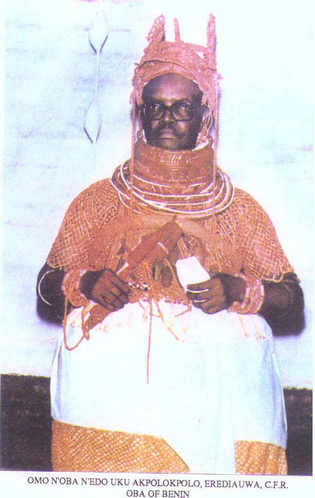 Oba Erediauwa I (1979 - 2016)